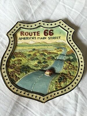 Route 66 - America's Main Street Wall Art Plaque