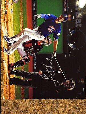 Kris Bryant Chicago Cubs 2016, 8 X 10 Color Autograph Photo Reprint