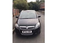 2012(62) Vauxhall Zafira MPV 1.7 TD ecoFLEX 16v Design 5dr 7 seater in immaculate condition