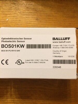 Balluff Bos01kw Photo Switch Sensor