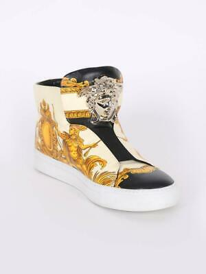 VERSACE palazzo medusa high top trainers eu 44 uk10 ref SF