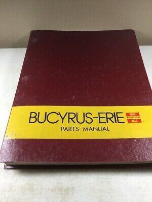 Bucyrus Erie 65c Crane Parts Catalog Manual Original