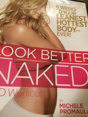 Look Better Naked! Workout (DVD 2010) w/Jessica Smith Women's Health