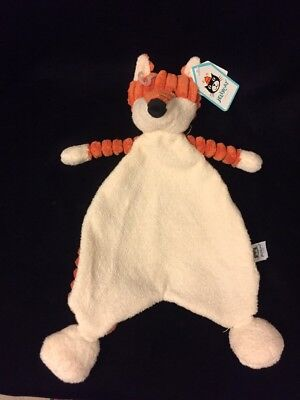 Jellycat Cordy Roy Fox Blanket Comforter Soother Cream Doudou Lovey Woodland