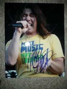 MARK SLAUGHTER AUTOGRAPHED 8X10 PHOTOS Edmonton Edmonton Area image 2