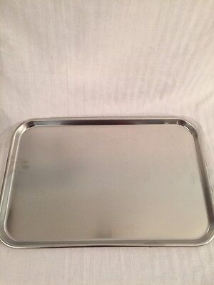Vollrath Stainless Steel Instrument Tray 19.5x12.75x0.75 80190 Good Condition