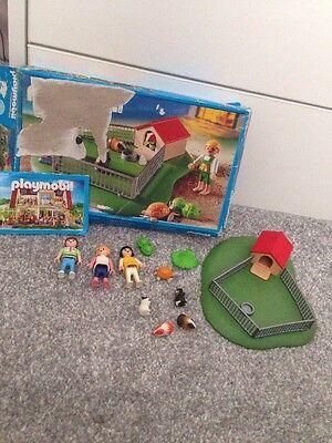 Boxed Playmobil Guinea Pig Tortoise Farm Children Set 3210 Toy
