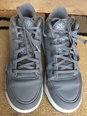newest 01d7f 23599 Nike Air Jordan Flight Origin 3 GS 820246-012 Cool Grey White Size 5.5Y