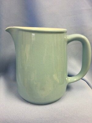 "VTG Arabia Light Blue / Teal 6"" Pitcher, Excellent! 13-44"