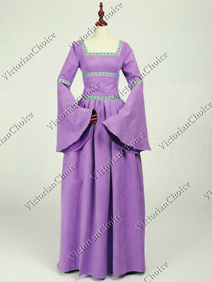 Queen Guinevere Costume (Medieval Renaissance Queen Guinevere Game of Thrones Dress Theater Costume R402)