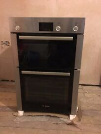 BOSCH ELECTRIC DOUBLE OVEN BRAND NEW