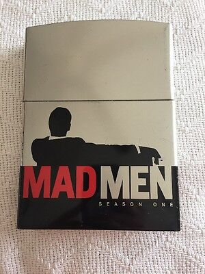 Mad Men - Season One (Zippo Lighter Case Limited Edition) (DVD, 2007) Mad Men Light