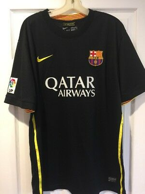 Rare Nike FC Barcelona  11 Neymar Jr Third 3rd Jersey Size XL GReat  Condition 501db04e1b8