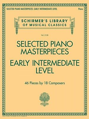 Selected Piano Masterpieces Early Intermediate Level Sheet Music NEW 050600822