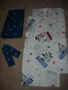 Disney Dalmations Window Covering Set - Like New!