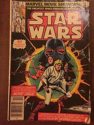 Star Wars Marvel Movie Showcase Group No. 1 November 1982 Issue $1.25