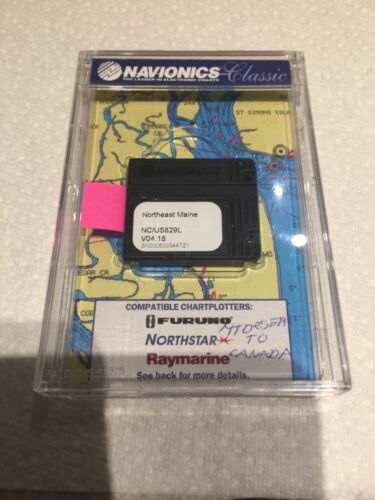 Navionics Classic Northeast Maine US829L