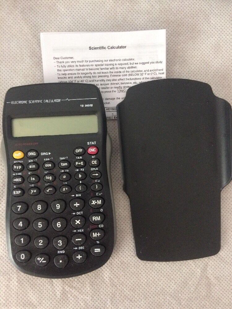 New Electronic Scientific Calculator 10 Digits
