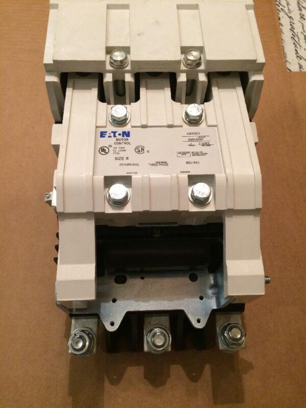 A201K5CA Cutler Hammer Eaton Size 5 Contactor  New No Box 100% New