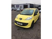 PEUGEOT 107 URBAN LITE (yellow) 2007