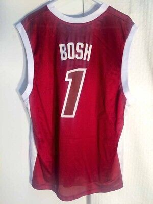 Adidas NBA Jersey Heat Chris Bosh Red X-Mas sz 2X