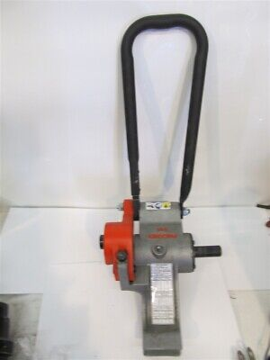 Ridgid 916 Power Driver Roll Groover 1-14 - 6 Pipe 2 - 6 Copper