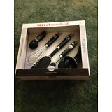 KitchenAid Gourmet 5-Piece Black Kitchen Tool Set New In Box