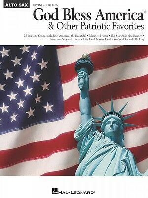 God Bless America and Other Patriotic Favorites Alto Sax Instrumental 000841649