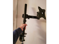 """VonHaus Single Arm LCD LED Monitor Desk Stand Mount for 13""""-32"""" Screen"""