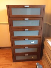 Chest of Drawers from built in wardrobe
