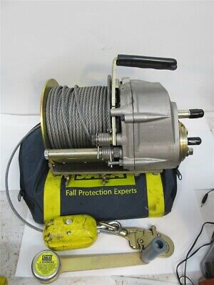 Dbi Sala L1850-60 Confined Space Winch 60 Cable 350 Lbs. Rated Load Used