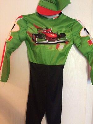 Disney Cars Francesco Lightening McQueen Costume size 5-6 - Lightening Mcqueen Kostüme