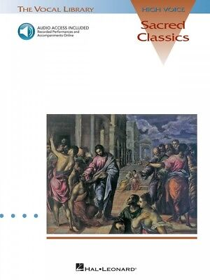 Sacred Classics The Vocal Library High Voice Vocal Collection Book 000740051