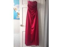 Strapless Satin Emily Fox Bridesmaid Dress & Bolero Jacket