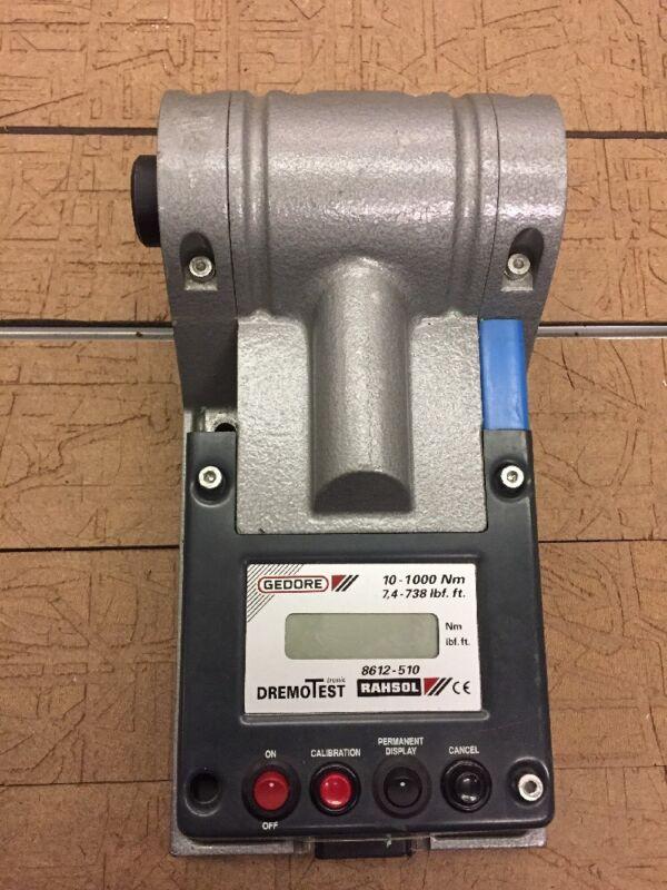 Gedore  8612-510 Electronic torque tester DREMOTEST E 10-1000 Nm