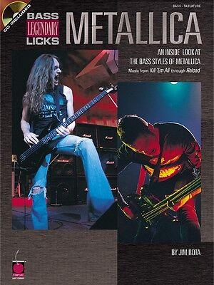 - Metallica Bass Legendary Licks - An Inside Look at the Bass Styles 002500180