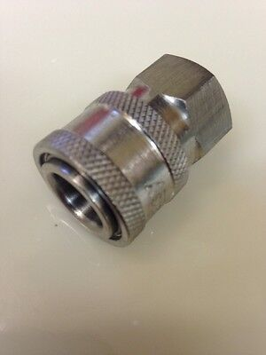 Pressure Washer 8.707-103.0 Coupler 14 Female 6000 Psi 303 Stainless Steel