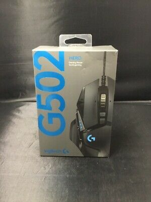 Authentic Logitech G502 Hero Gaming Mouse 910-005469