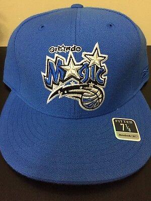 cbd38176752 Orlando Magic Reebok Fitted Hat Size 7 7 8
