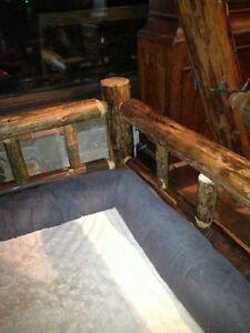 Dog Bed Frame: Log Home style Cambridge Kitchener Area image 2