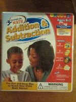 Hooked On Math - Addition & Subtraction, NEW