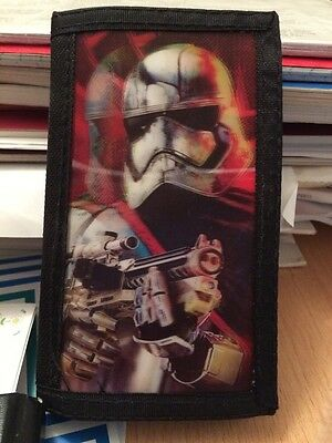 Star Wars 3D Wallet, The Force Awakens, BNWT