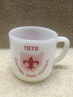 Federal Glass Company Boy Scouts Of America Central Ohio Council Bsa 1978