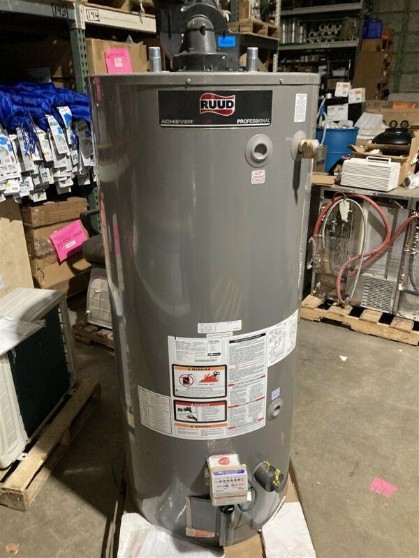 Rheem PRO+G75-75N RU PDV Heavy Duty Water Heater Nat Gas 75,100 BTU 75 Gallon