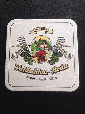 Bierdeckel BD Waldschloss Bräu Frammersbach Coaster Bier Beermat 🍺