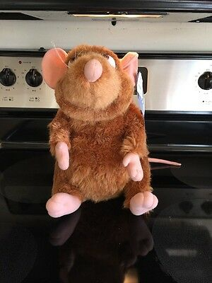 "Disney Ratatouille Emile Rat Soft Plush Disney Store Pixar 15"" New w/Tags"