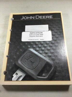 John Deere 4039 4045 Engines Parts Catalog Manual Pc2305