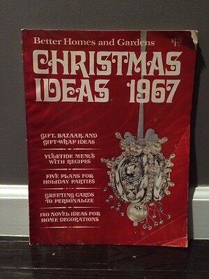 Better Homes and Gardens 1967 Christmas Ideas Decorations to Make Recipes