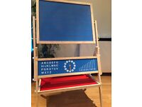 Fantastic double sided easel with educational features