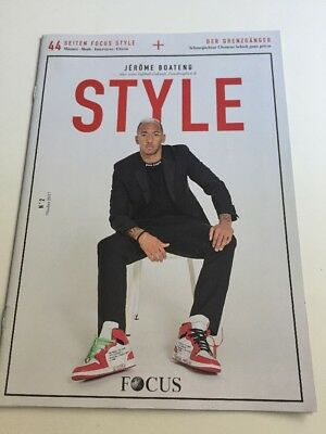 Focus Style Ausgabe 2 Oktober 2017 Jerome Boateng